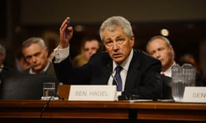Chuck Hagel undergoes Senate confirmation hearing