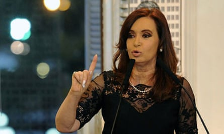 Argentina's President Cristina Fernandez