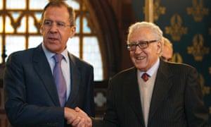 Russia's Foreign Minister Sergei Lavrov held talks with UN-Arab League envoy to Syria Lakhdar Brahimi in Moscow on 29 December.