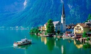 The real deal ... Hallstatt in Austria