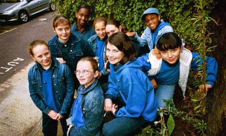 Girl Guides in Stepney Green, east London