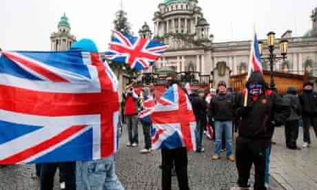Belfast flag protest