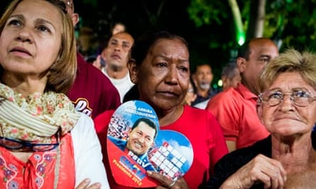 Venezuelans pray for Chavez