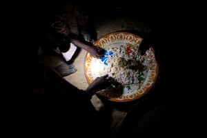 Chad Stunted Nation: Sharing a meal