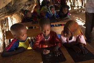 Chad Stunted Nation: Children at school