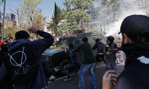 chile mapuche protests