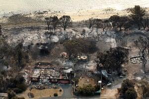 Bushfires: Bushfire damage