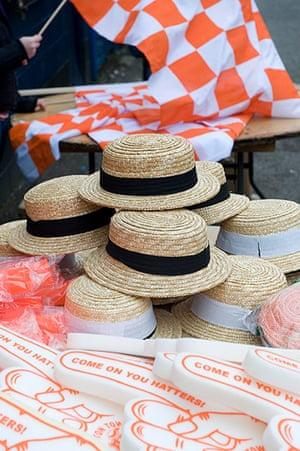 luton v wolves: Hats for sale