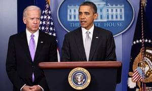 Barack Obama announced the creation of an interagency task force for guns, headed by Joe Biden