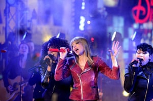 Week in Music: Taylor Swift performs at the celebrations in Times Square on New Years Eve