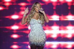 Week in Music: Mariah Carey sings at the Gold Coast Convention Centre near Brisbane