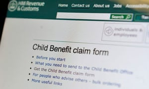 HMRC child benefit