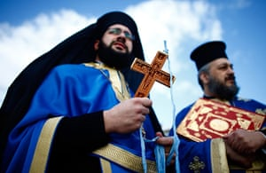 Epiphany Day:  Greek Orthodox Celebrate Epiphany