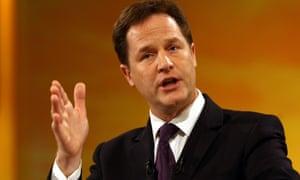 Nick Clegg.