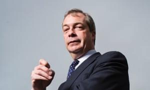Nigel Farage, the Ukip leader.