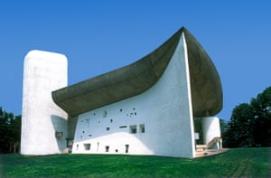 Copycat architecture: The Ronchamp in France, designed by Le Corbusier