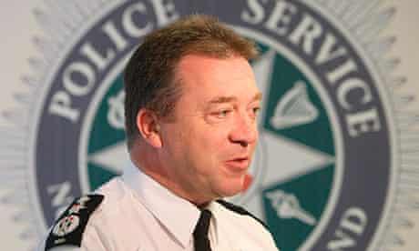 Matt Baggott, chief constable of the Police Service of Northern Ireland