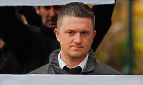 EDL leader Stephen Lennon