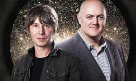 Brian Cox and Dara O Briain in Stargazing Live