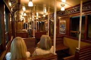 World subways: Subte A Train, Metro, Buenos Aires, Argentina