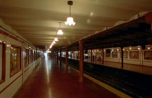 World subways: Buenos Aires Subte Estacion Peru on Linea A