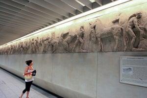 World subways: Akropoli metro station, Athens