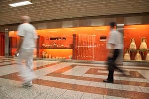 World subways: Akropoli Metro Station, Athens Greece