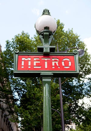 World subways: Paris Metro