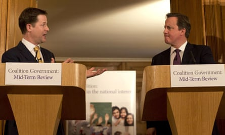 Cameron and Clegg announce their mid-term review