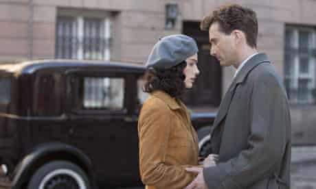 Janet Montgomery and David Tennant in Spies of Warsaw