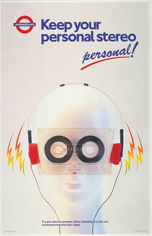 Tube Posters: Keep your personal stereo personal!