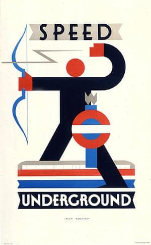Tube Posters: Speed Underground
