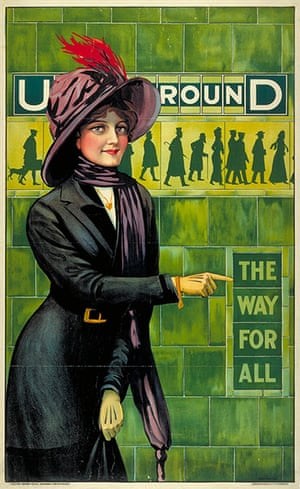 Tube Posters: Underground; the way for all