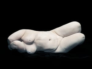 Nadav Kander: Elizabeth with elbows hiding face, 2012