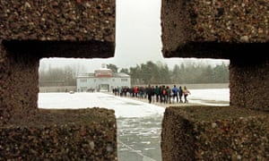 the former Nazi concentration camp Sachsenhausen