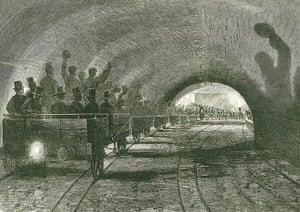 Tube through the decades: Trial trip on the Metropolitan line, circa 1754