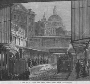 Tube through the decades: Blackfriars underground Station, 15 May 1875
