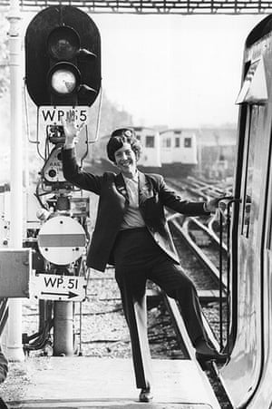 Tube through the decades: First woman tube driver, 1978