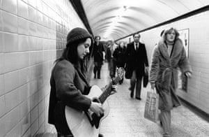 Tube through the decades: Underground Busker, 1979
