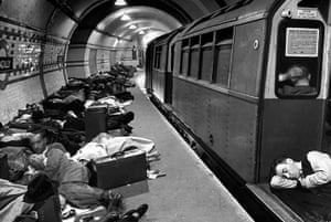 Tube through the decades: Londoners sleeping underground in subway during war, 1941