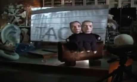 Tacheles graffiti on the Berlin Wall in David Bowie's music video for Where Are We Now?