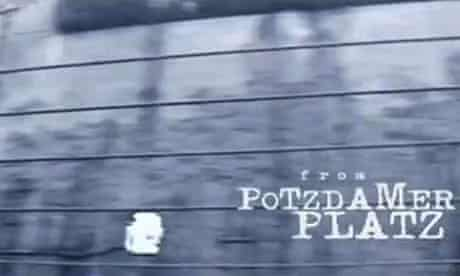 Potsdamer Platz in David Bowie's music video for Where Are We Now?