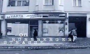 Nürnberger Strasse in David Bowie's music video for Where Are We Now?