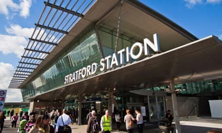 Stratford station entrance