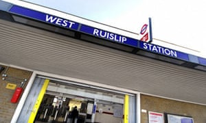 West Ruislip Underground Station