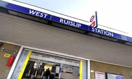 West Ruislip Underground Station