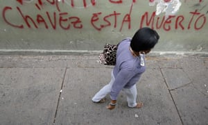 Street graffito in Caracas