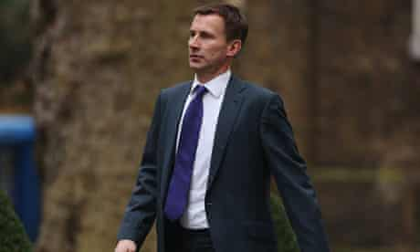 Health secretary Jeremy Hunt must decide whether to dissolve the south London NHS trust