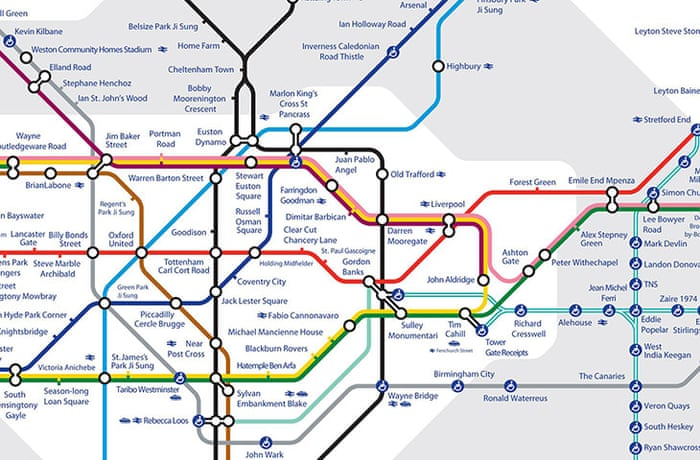 Printable London Subway Map.London Underground 14 Alternative Tube Maps News The Guardian