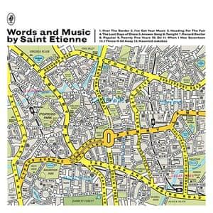 Album artwork: Saint Etienne, Words And Music, album artwork